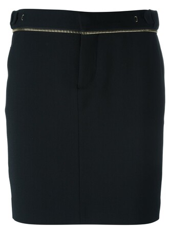 skirt pencil skirt zip black