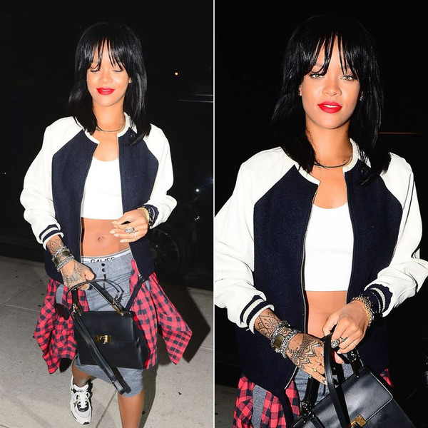 jacket rihanna sneakers shoes