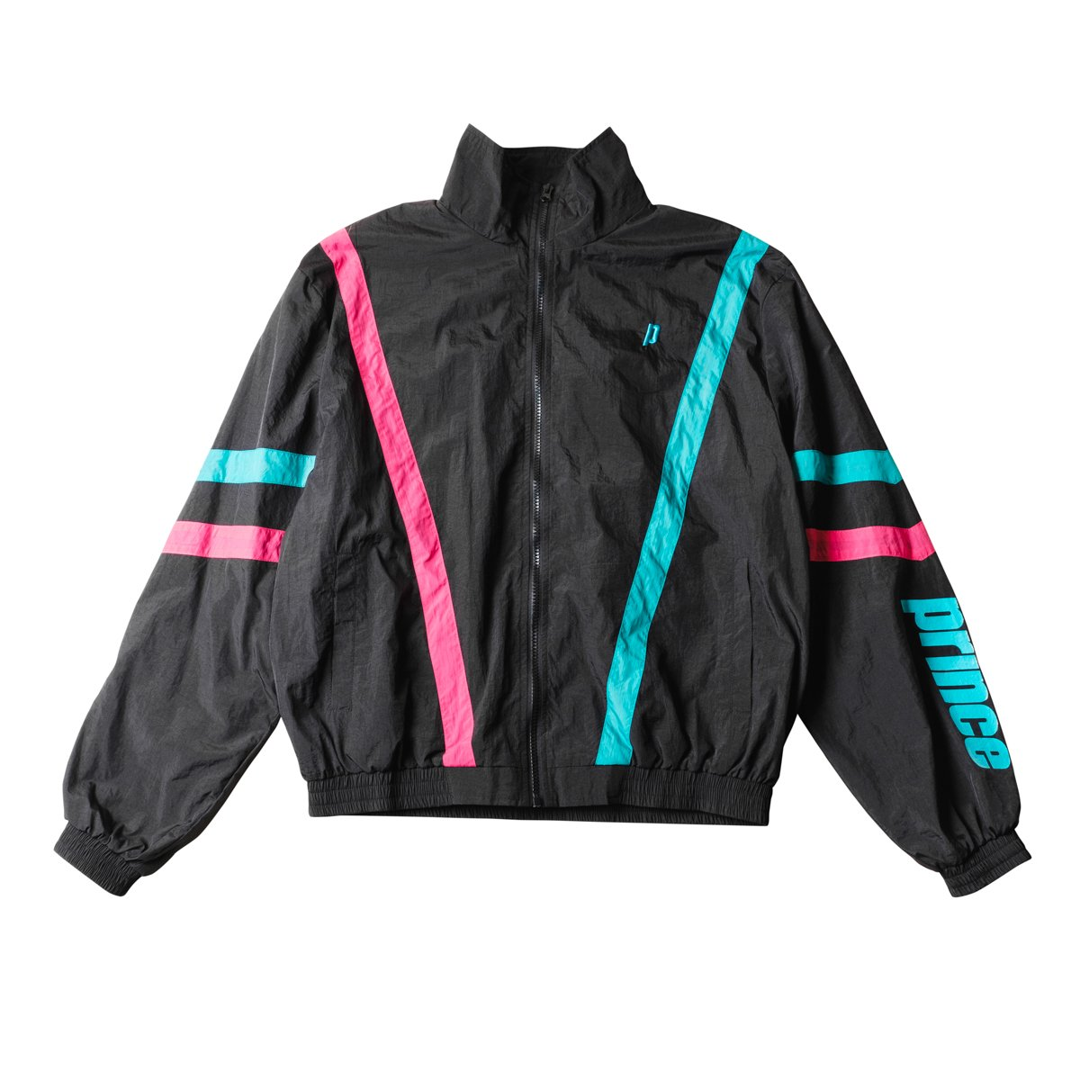 Black Baseline Track Jacket