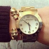 jewels,bracelets,skull
