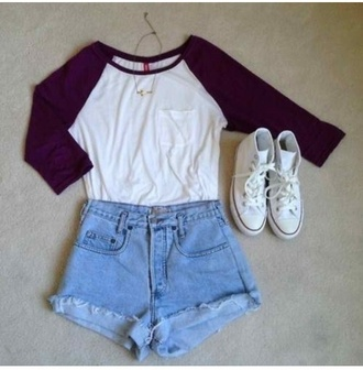 top maroon cute tumblr girl baseball tee