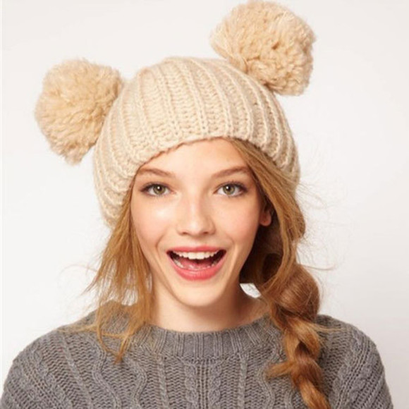 knit hat fashion warm
