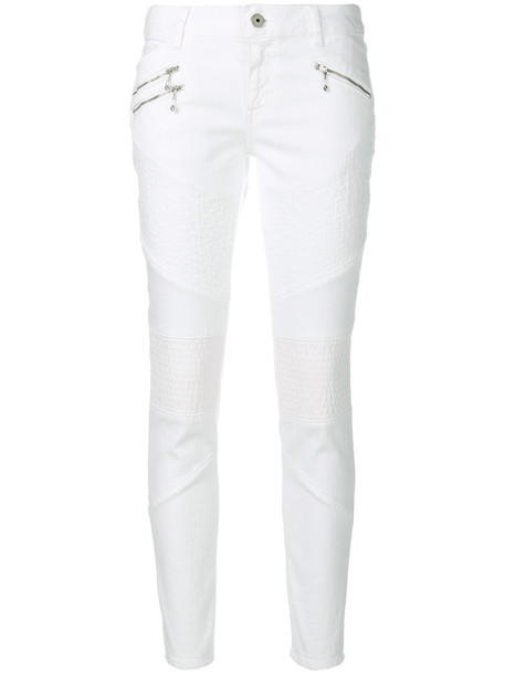 jeans casual women spandex white cotton