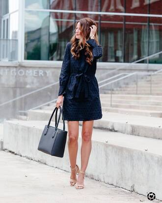 dress tumblr mini dress blue dress shirt dress sandals sandal heels high heel sandals bag black bag shoes