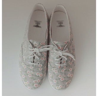 shoes oxfords grey floral