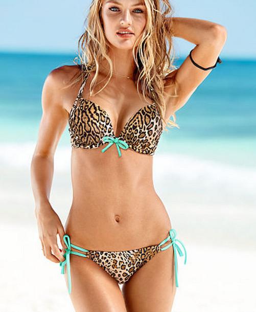 Swimwear Leopard Print Beach Bikini Leopard Bikini