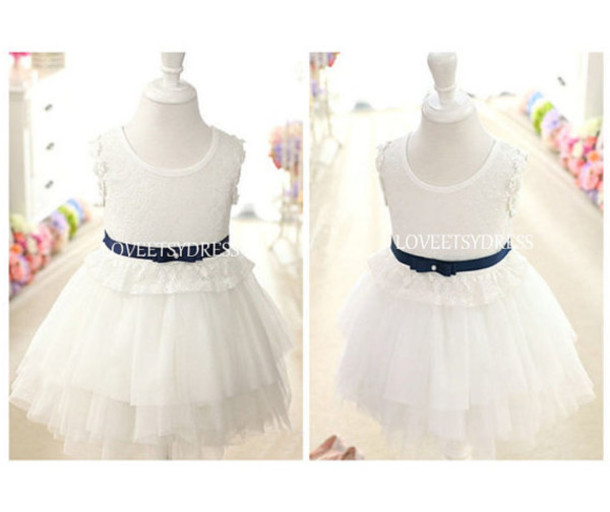 dress, white dress, ball gowns, kids fashion, kids dress, children ...