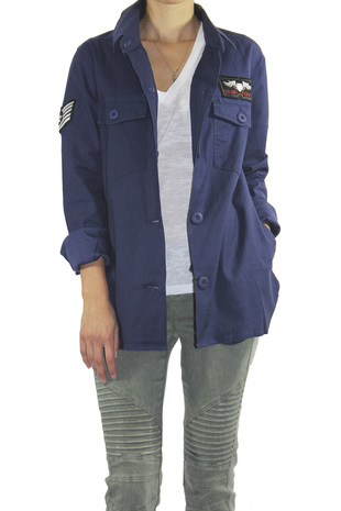 Military Jacket - ShopFrankies.com