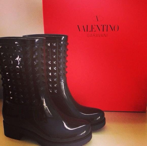 Valentino black black boots