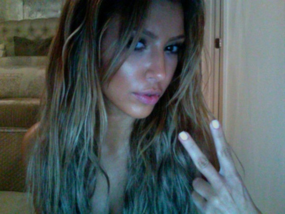 hair jewels hairstyle peace beauty beautiful wild kim kardashian