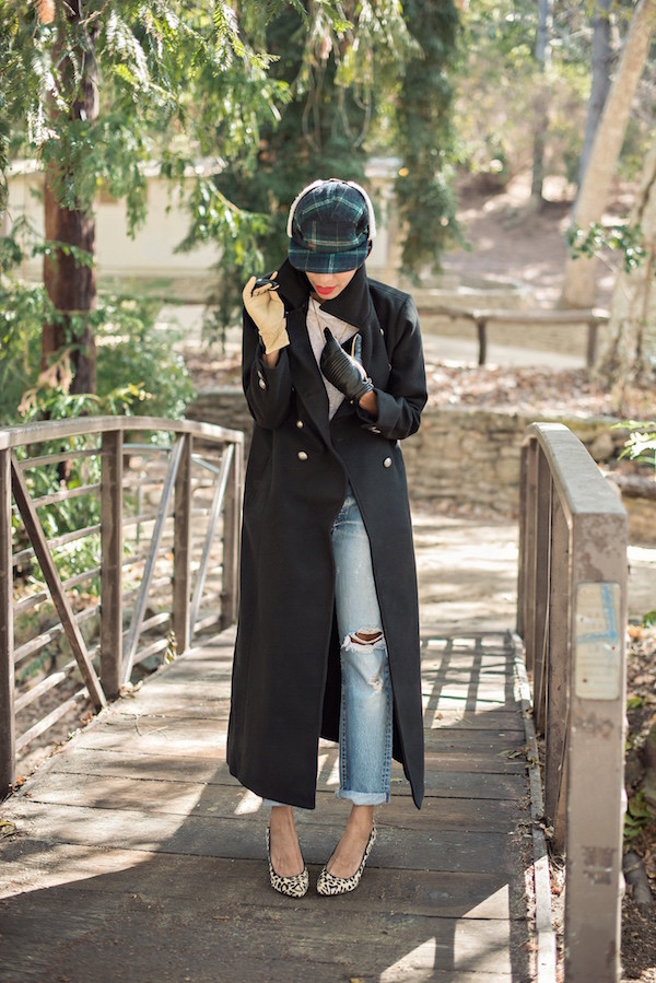 style me grasie blogger jeans gloves ripped jeans