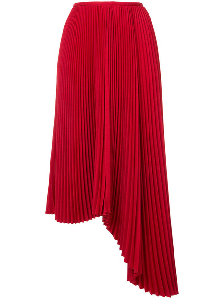 skirt women red