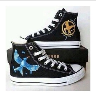 shoes converse the hunger games tennis shoes