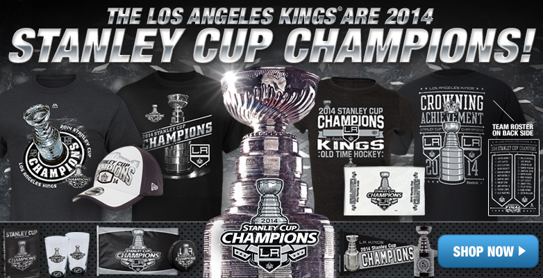 Los Angeles Kings Shop - Buy 2014 Kings Stanley Cup Champions Gear, Apparel, Merchandise at Shop.NHL.com