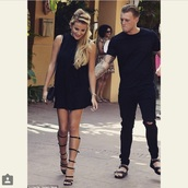 shoes,the only way is essex,georgia,towie,sandals,gladiators,knee high gladiator sandals,dress