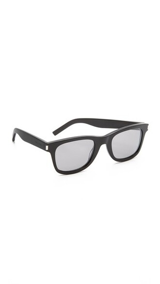sunglasses silver black
