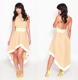 dress lime strap heels beige tan dress backless heels halter top nude and white dress