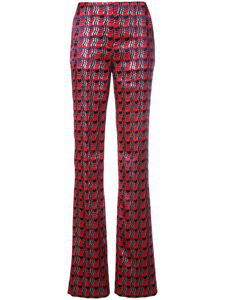 Dvf Diane Von Furstenberg women red pants