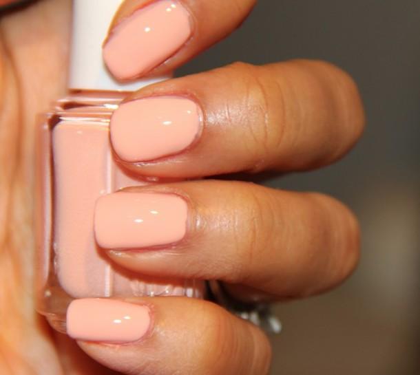 Nail Polish: Peach, Creamy, Essie, Nails