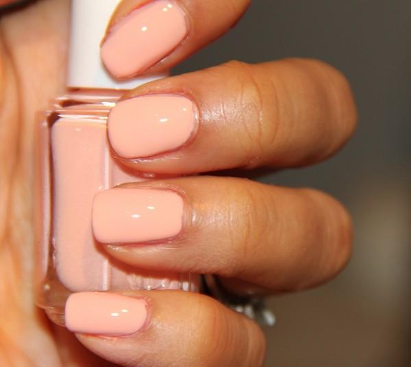 nail polish peach creamy essie nails
