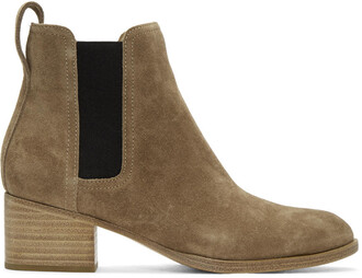 boots suede brown shoes