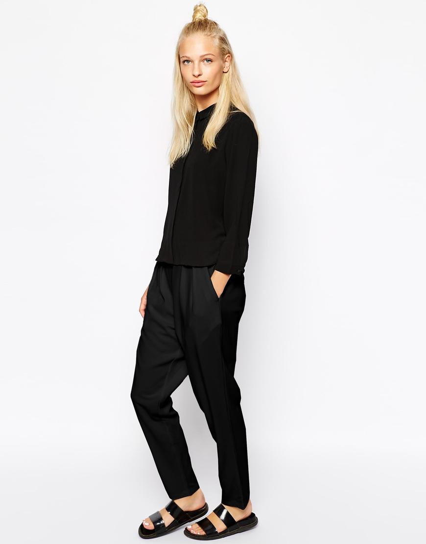 Monki loose tailored trouser at asos.com
