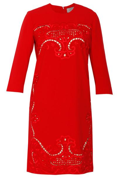 PREEN BY THORNTON BREGAZZI dress red