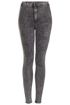 MOTO Black Joni Super High Waisted Jeans - Topshop