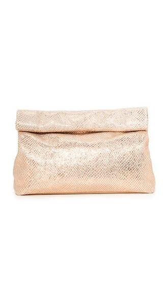 clutch sparkle pink bag