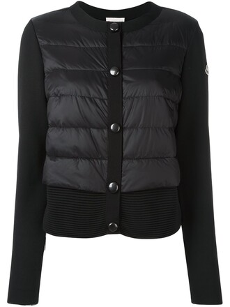jacket layered black