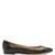 Lauren scallop-edged leather ballet flats