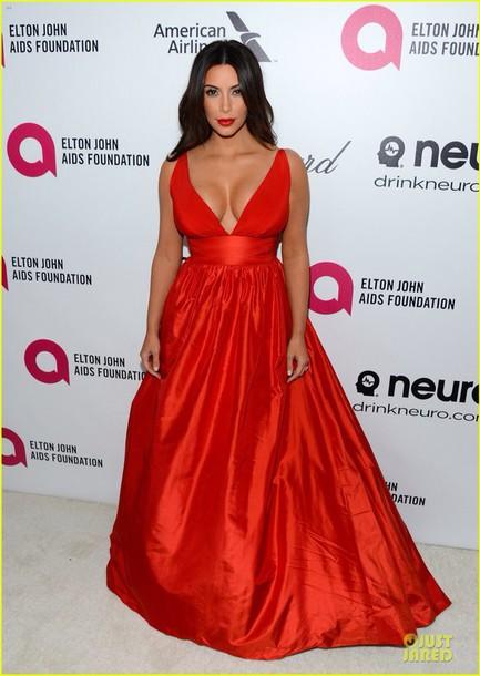 dress kim kardashian dress red dress