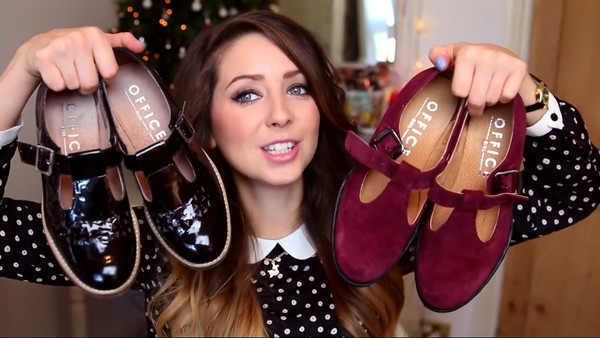shoes office outfits zoella shiny black velvet red burgundy t strap vintage. preppy