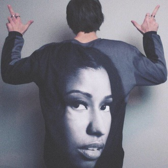 sweater nicki minaj