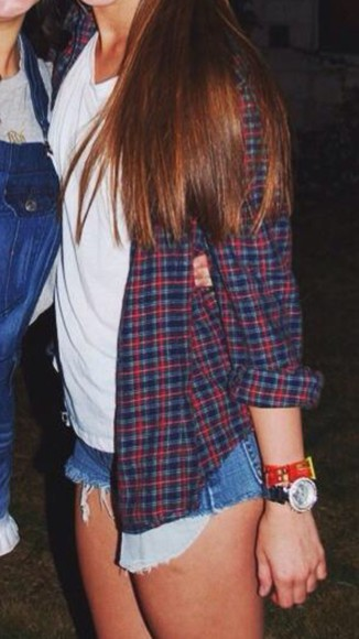 flannel shirt blouse flannel shirt cute fall outfits