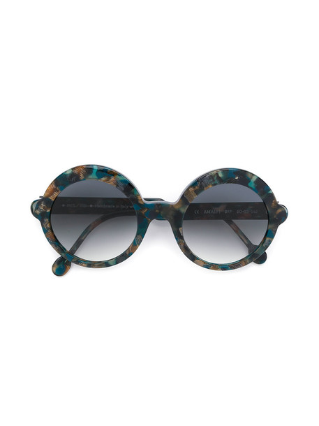 Res Rei women sunglasses round sunglasses blue