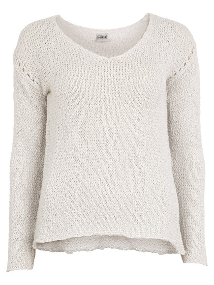 sweater jumper knitted knit beige v neck knitted sweater fine knit pullover v neck sweater