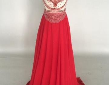 Handmade delicate red a