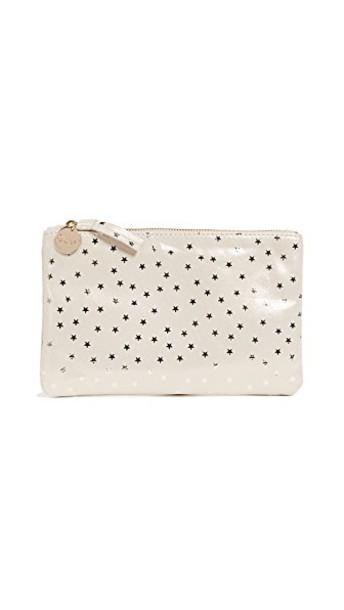 Clare V. clutch stars bag