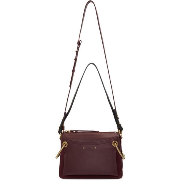 satchel burgundy bag