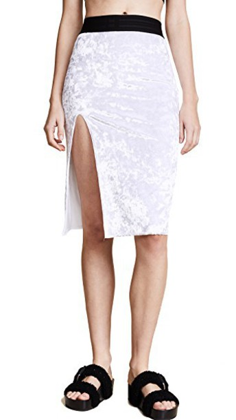 Baja East skirt pearl