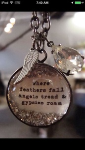 jewels,boho,bohemian,ethnic jewellery,ethnic,necklace,beautiful,gypsy,angels,feathers