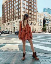 skirt,mini skirt,sheer blouse,polka dots dress,ruffle,boots