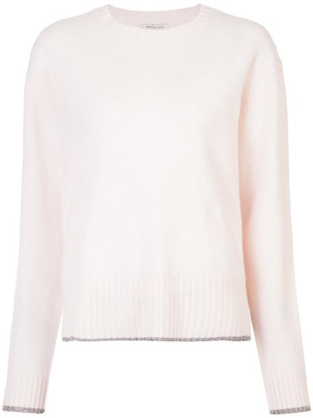 Morgan Lane - Charlee sweater - women - Cashmere - S, Pink/Purple, Cashmere