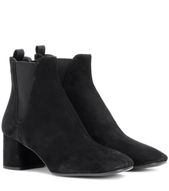 suede ankle boots ankle boots suede black shoes