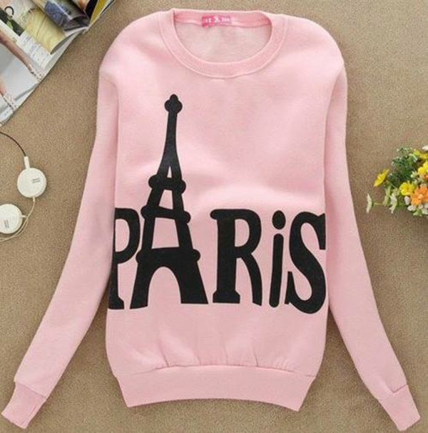 shirt sweater pink