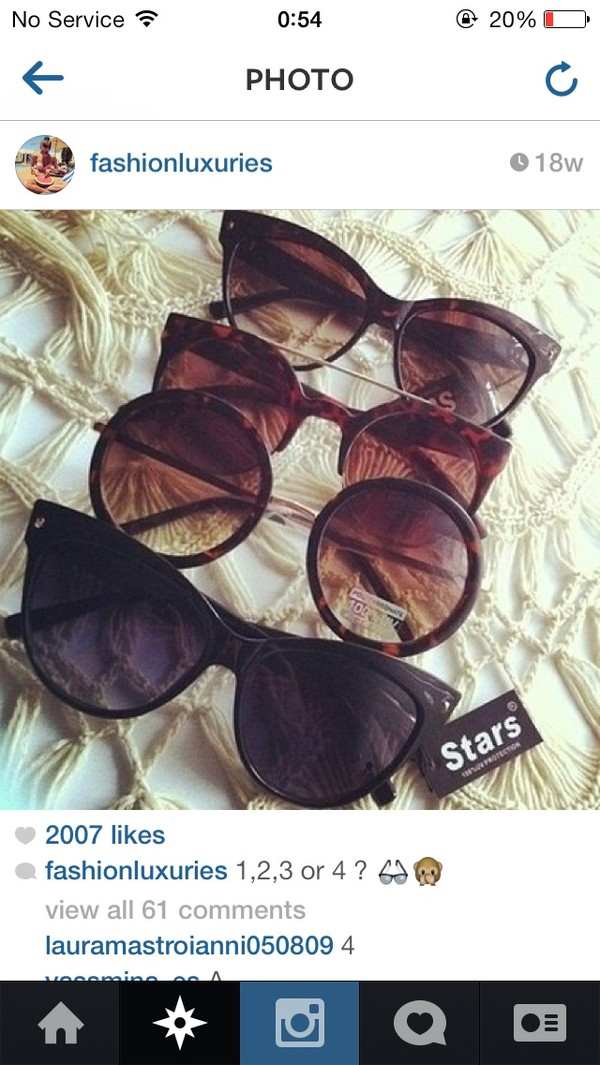 sunglasses black brown sunglasses