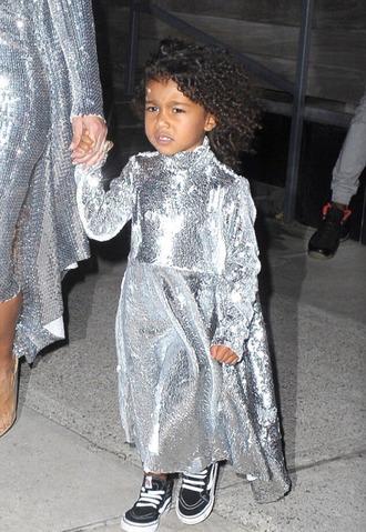 dress silver metallic north west sneakers sequins sequin dress kids fashion kids dress kids shoes