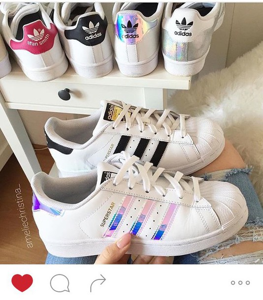 pretty girl adidas shoes