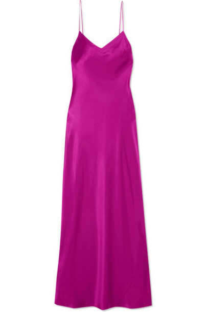 Galvan gown satin dress